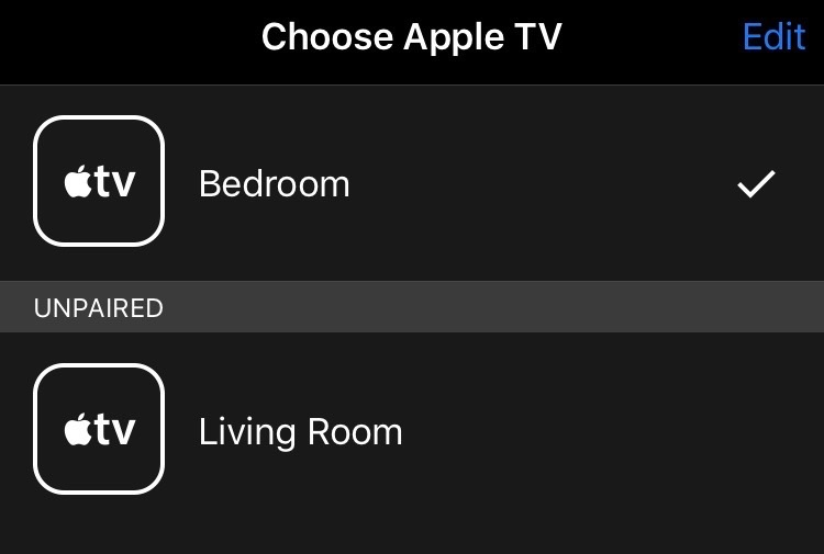 iOS TV Remote von Apple